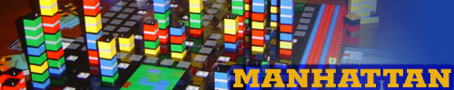 LEGO Manhattan board game